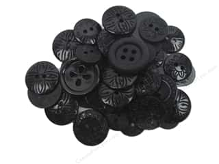 scrapbooking & paper crafts: Jesse James Dress It Up Embellishments Color Me Black