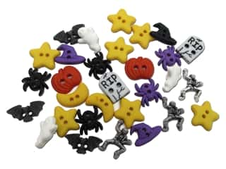 craft & hobbies: Jesse James Dress It Up Embellishments Halloween Fright Night