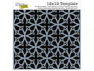 Clearance The Crafters Workshop Template: The Crafter's Workshop Template 12 x 12 in. Garden Gate