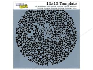 Clearance The Crafters Workshop Template: The Crafter's Workshop Template 12 x 12 in. Microbial