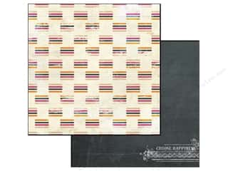 Glitz Design 12 x 12 in. Paper Uncharted Waters Stripe