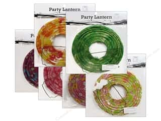 "craft & hobbies: Sierra Pacific Crafts Decor Lantern Paper Small 8"" Round Floral Assorted 6 Patterns (6 pieces)"