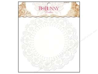 Valentines Day Gifts Baking: Bo Bunny Doilies 6 1/2 in. Medium 20 pc. (3 pieces)