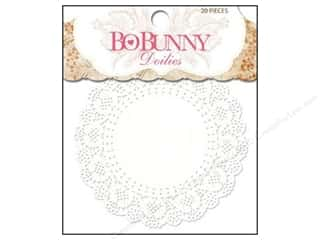 Valentines Day Gifts Baking: Bo Bunny Doilies 4 in. Small 20 pc. (3 pieces)