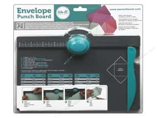 Best of 2013 We R Memory Tool Punch: We R Memory Keepers Envelope Punch Board