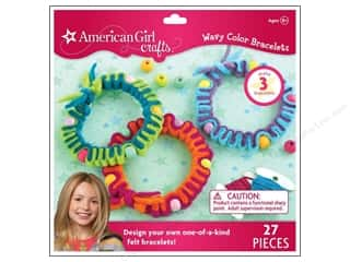Weekly Specials Jewelry Making: American Girl Kit Wavy Color Bracelets
