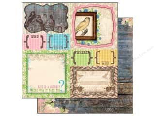 Yard Sale: Bo Bunny 12 x 12 in. Paper Prairie Chic Collection Yard Sale (25 sheets)