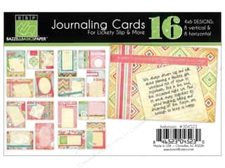 Bazzill dotted swiss cardstock: Bazzill Lickety Slip Journaling Cards 4 x 6 in. Ambrosia 16 pc.