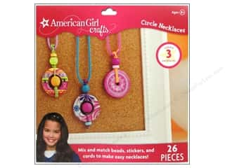 Weekly Specials Perler Beads: American Girl Kit Circle Necklace