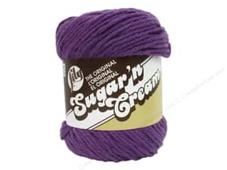 Sugar and Cream: Lily Sugar 'n Cream Yarn  2.5 oz. #1318 Black Currant