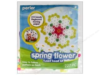Weekly Specials Beadalon Bead Boards: Perler Fused Bead Kit Trial Spring Flower