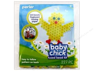 Weekly Specials Beadalon Bead Boards: Perler Fused Bead Kit Trial Baby Chick