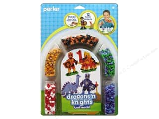 projects & kits: Perler Fused Bead Kit Dragons N Knights 2000pc