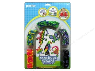 Perler Fused Bead Kit Rare Bugs N Birds 2000pc