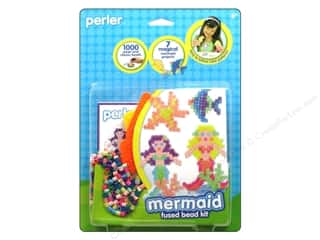 beading & jewelry making supplies: Perler Fused Bead Kit Mermaid 1000pc