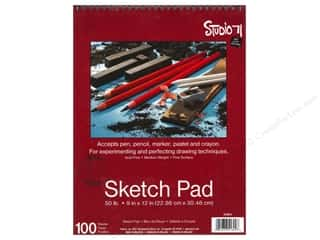 Darice Studio 71 Sketch Pad 9 x 12 in. 50 lb. Fine Surface
