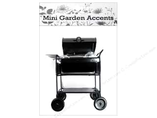 craft & hobbies: Sierra Pacific Crafts Decor BBQ Stove Metal Black
