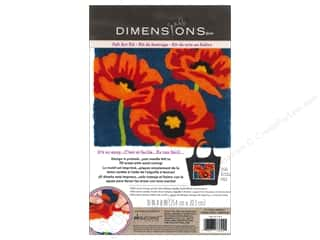 Weekly Specials Dimensions Needle Felting Kits: Dimensions Needle Felting Art Kit 10 x 8 in. Poppies
