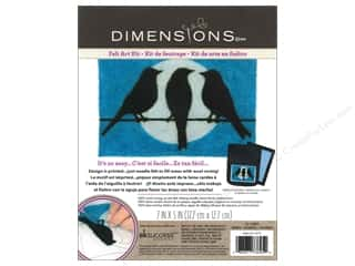 Weekly Specials Dimensions Needle Felting Kits: Dimensions Needle Felting Art Kit 7 x 5 in. Birds