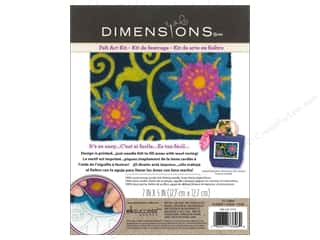 Weekly Specials Dimensions Needle Felting Kits: Dimensions Needle Felting Art Kit 7 x 5 in. Flower