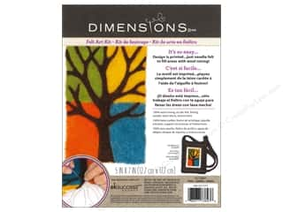 Weekly Specials Dimensions Needle Felting Kits: Dimensions Needle Felting Art Kit 5 x 7 in. Tree