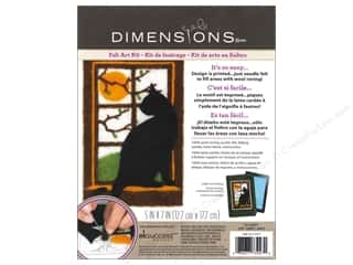 Weekly Specials Dimensions Needle Felting Kits: Dimensions Needle Felting Art Kit 5 x 7 in. Cat
