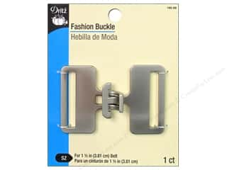 Fashion Buckle by Dritz 1 1/2 in. Brushed Nickel