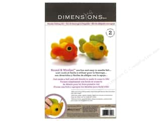 Weekly Specials Needle Felting: Dimensions Needle Felting Kits Round & Woolies Fish