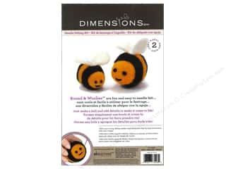 weekly specials Dimensions Felting: Dimensions Needle Felting Kit Round & Woolies Bees