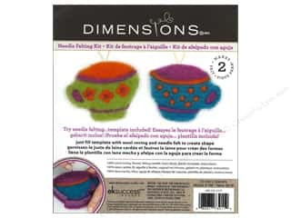 Cups & Mugs: Dimensions Needle Felting Kits Cutouts Tea Cup