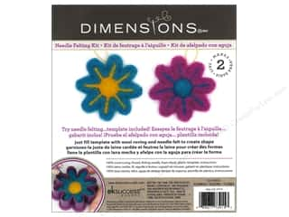 weekly specials Dimensions Felting: Dimensions Needle Felting Kits Cutouts Flower