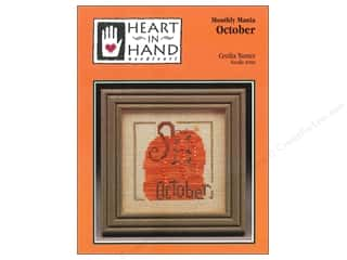 Charts: Heart In Hand Monthly Mania October Pattern by Cecila Turner
