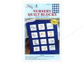 Jack Dempsey 9 in. Quilt Blocks 12 pc. Puppies