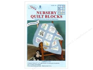 square hoop: Jack Dempsey 9 in. Quilt Blocks 12 pc. Zoo Animals