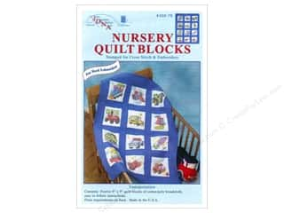 square hoop: Jack Dempsey 9 in. Quilt Blocks 12 pc. Transportation