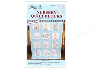 Weekly Specials: Jack Dempsey 9 in. Quilt Blocks 12 pc. Farm Animals