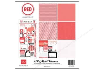 Clearance Echo Park Collection Kit: Echo Park 12 x 12 in. Collection Kit Red