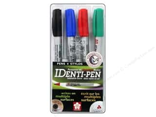 Thin point black marker: Sakura Identi-Pen Permanent Marker Dual Point Set 4 pc.