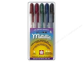 craft & hobbies: Sakura Gelly Roll Metallic Pen Set Dark 5 pc