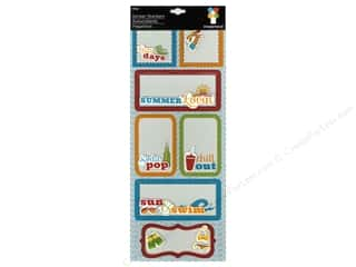 theme stickers  summer: Imaginisce Stickers Endless Summer Stacker Lazy Days