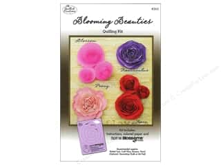 Projects & Kits: Quilled Creations Quilling Kit Blooming Beauties