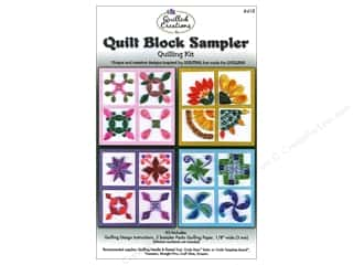 Projects & Kits: Quilled Creations Quilling Kit Quilt Block Sampler