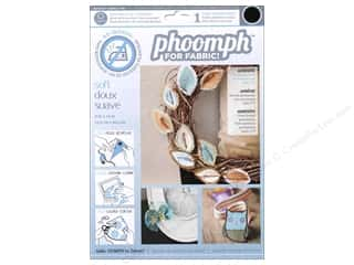 Phoomph For Fabric by Coats and Clark: Phoomph For Fabric Soft 9 x 12 in. Black by Coats & Clark