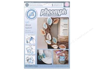 Phoomph For Fabric by Coats and Clark: Phoomph For Fabric Soft 9 x 12 in. Pink by Coats & Clark