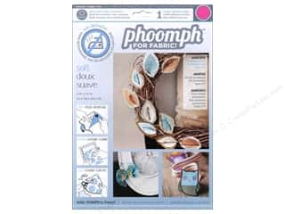 craft & hobbies: Phoomph For Fabric Soft 9 x 12 in. Fuchsia by Coats & Clark