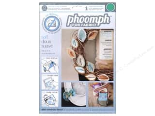 Phoomph For Fabric by Coats and Clark: Phoomph For Fabric Soft 9 x 12 in. Green by Coats & Clark