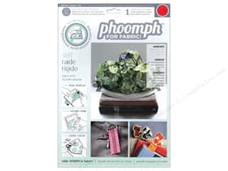 Phoomph For Fabric by Coats and Clark: Phoomph For Fabric Stiff 9 x 12 in. Red by Coats & Clark