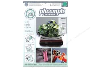 Phoomph For Fabric Stiff 9 x 12 in. Green by Coats & Clark