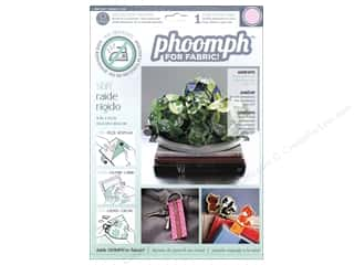 Phoomph For Fabric by Coats and Clark: Phoomph For Fabric Stiff 9 x 12 in. Pink by Coats & Clark