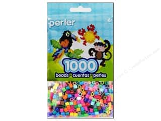 beading & jewelry making supplies: Perler Beads 1000 pc. Multi Mix